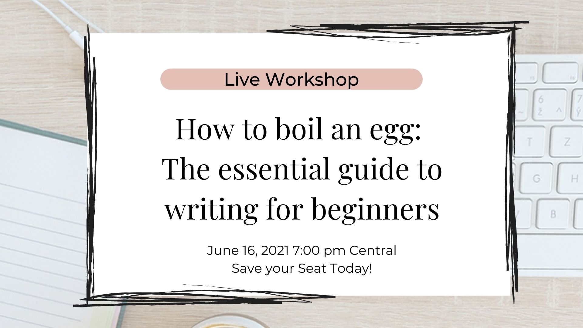 How to boil an egg workshop